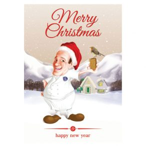 The Gingerbread Christmas Card Small