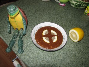 Grandmother Marion Toohey's Mock Turtle Soup