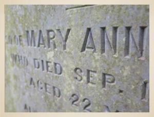 Mary-Ann-Grave