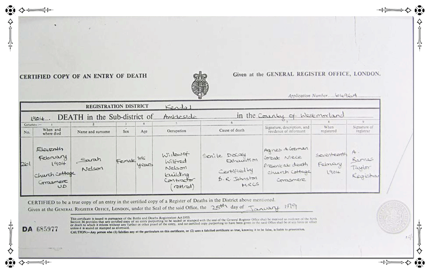 Sarah-Nelson-Death-Certificate
