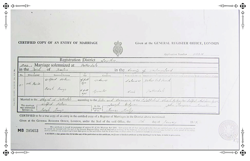 Sarah-Nelson-Marriage-Certificate