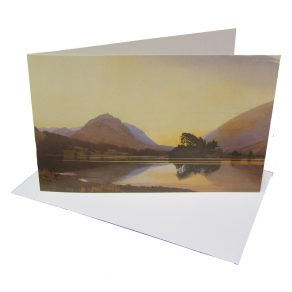 After Sunset, Grasmere Greeting Card