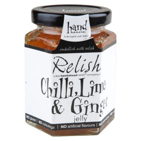 Chilli, Lime & Ginger Jelly from Hawkshead Relish