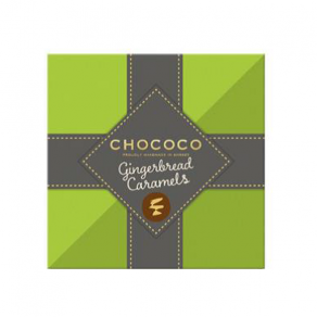 Chococo Gingerbread Caramels