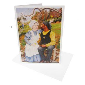 The English Garden Card