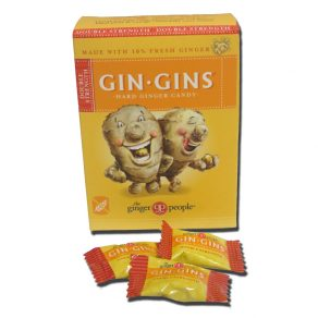 Gin Gins Double Strength Hard Ginger Candy