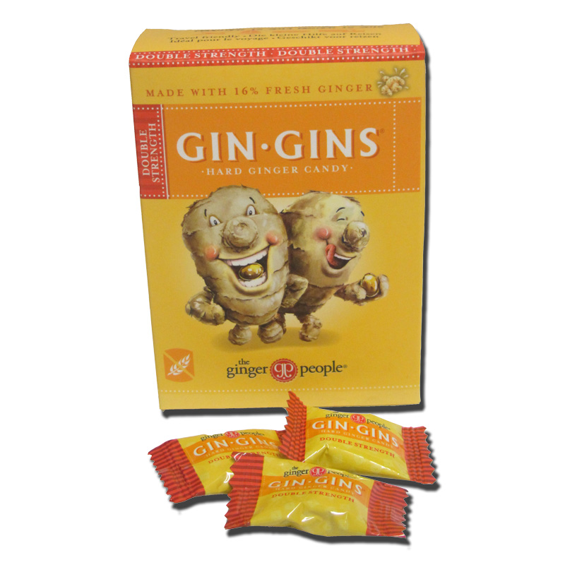 Gin Gins Double Strength Hard Ginger Candy  Grasmere