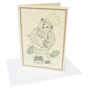 Ginger Bear Card