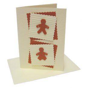 Gingerbread Man & Woman Card