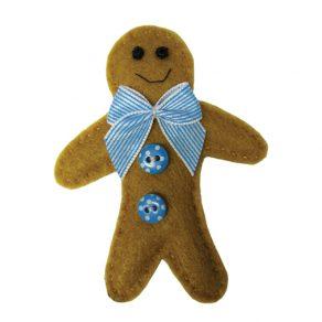 Gingerbread Man Material Badge