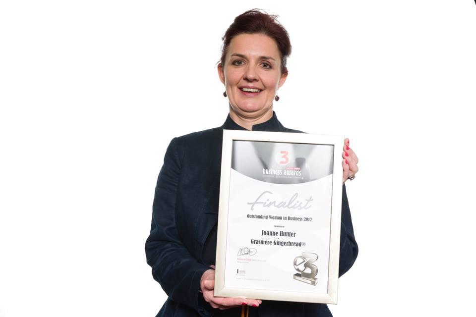 Joanne Hunter E3 Businesswoman of the Year