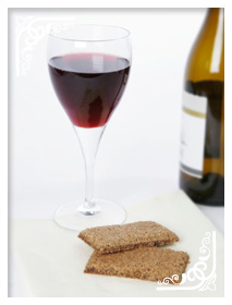Grasmere Gingerbread with Red Wine
