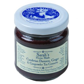 Sarah's Home Made Cumbrian Damson, Ginger & Gunpowder Tea Conserve