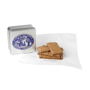Six Pieces of Grasmere Gingerbread® in Presentation Tin
