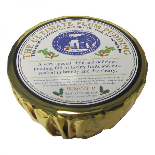 The Ultimate Plum Pudding 2lb 1