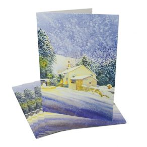 Warming Winter Scene Cards - 5 Pack