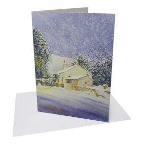 Warming Winter Scene Card