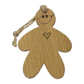 Wooden Gingerbread Man